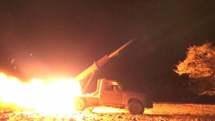 Update: Yemeni army fires barrage of Katyusha rockets on